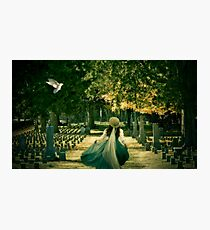 I'll Fly Away... Photographic Print