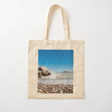 Beach Lake House Decor Cotton Tote Bag