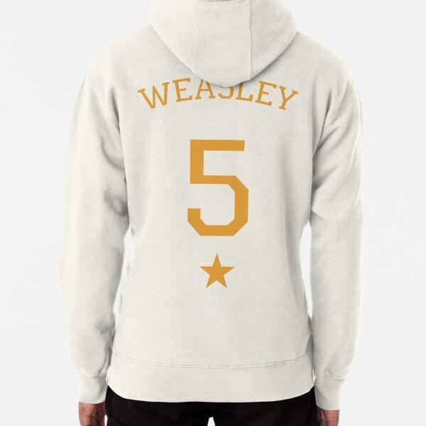 Weasley 5 - gold Pullover Hoodie