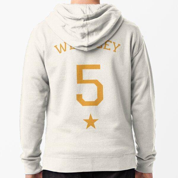 Weasley 5 - gold Zipped Hoodie