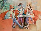 Cafe Chat by Sara Moon