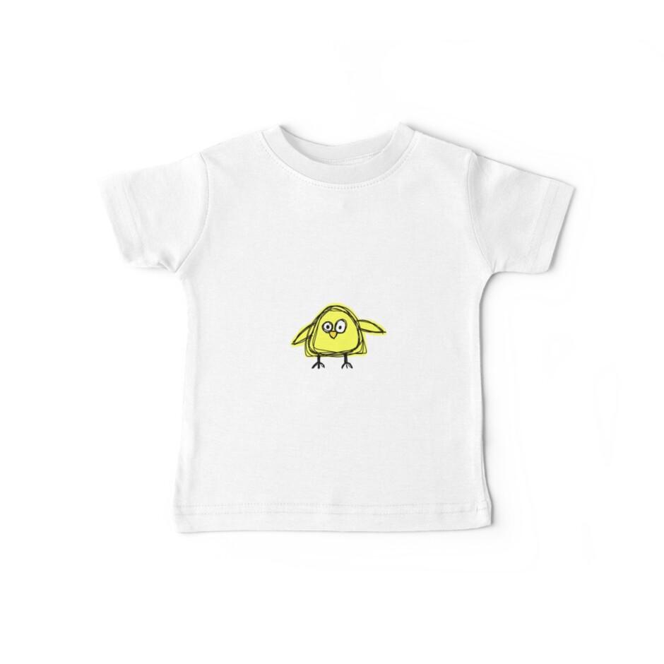 yellow birdy by babibell
