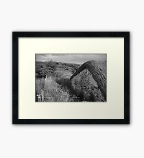 Old Thatch and Summer Grasslands - Killbegs, County Donegal. Framed Print