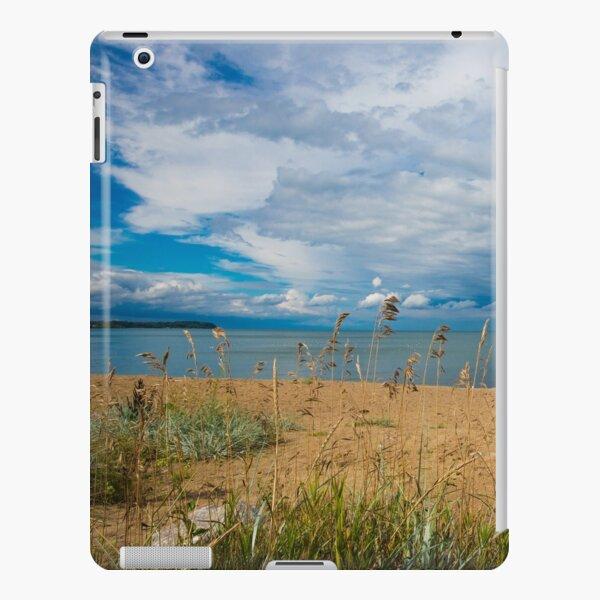 Stormy Beach, Calm after the storm, Beach house decor iPad Snap Case