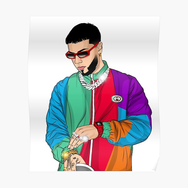 Anuel aa Poster