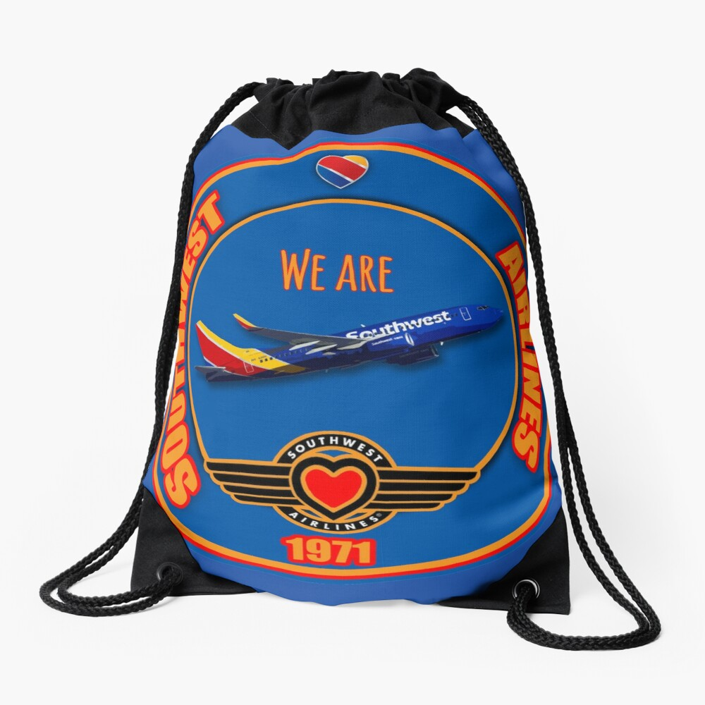 We are Southwest Airlines Drawstring Bag