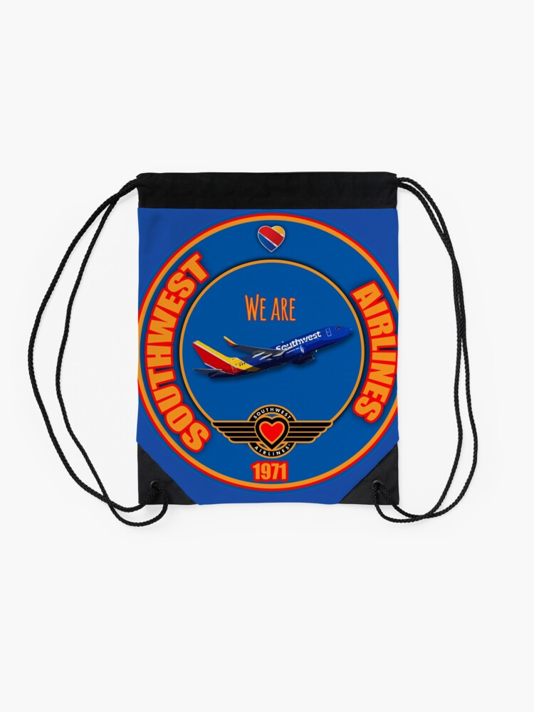 Alternate view of We are Southwest Airlines Drawstring Bag