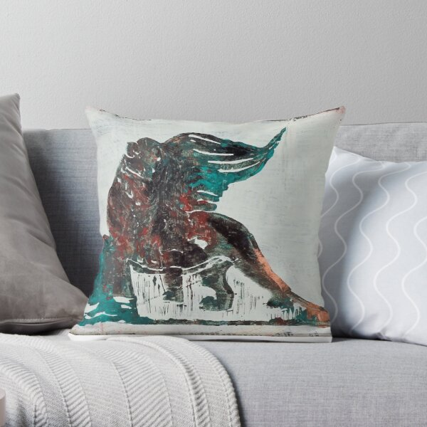 Lion of St.Mark - Venice, Italy Throw Pillow