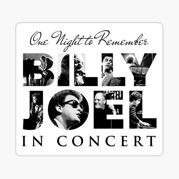 one night billy to remember joel tour 2019 2020 nekat8 Sticker