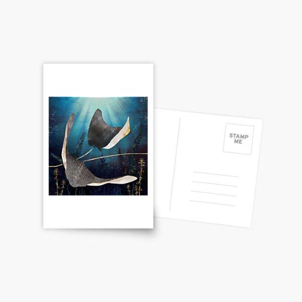 Metallic Stingray Postcard