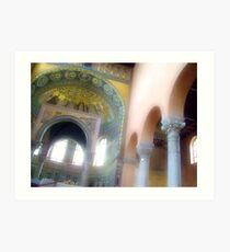 Euphrasian Basilica, Porec, Croatia Art Print