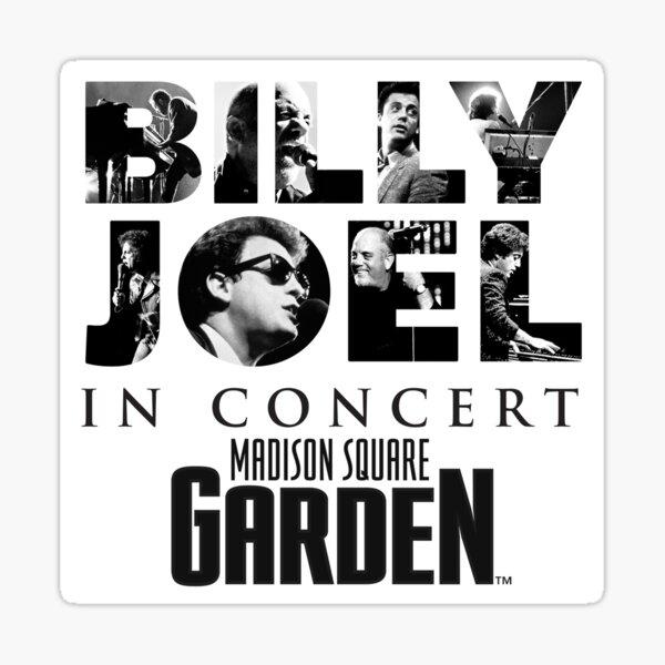 madison square billy on concert joel tour 2019 2020 nekat8 Sticker