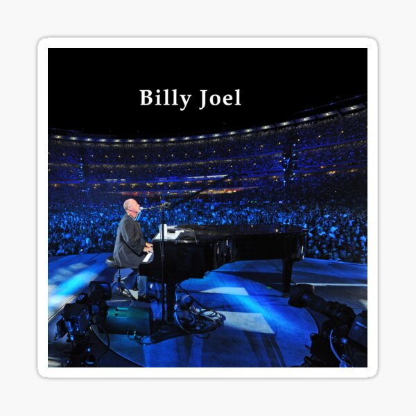 live billy on concert joel tour 2019 2020 nekat8 Sticker