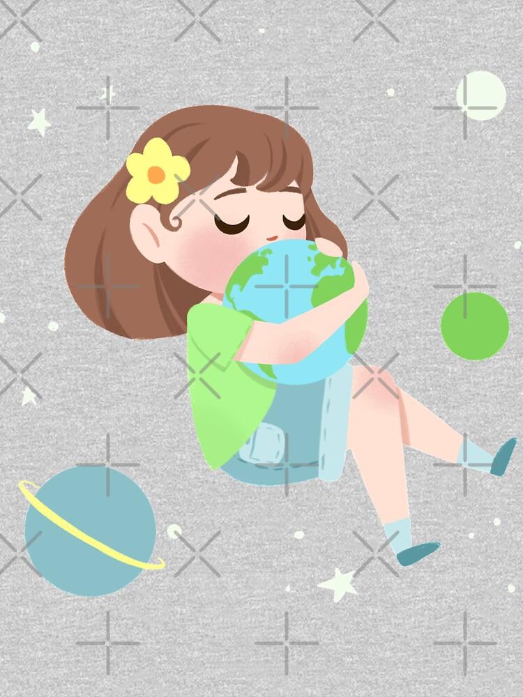 Hugging Earth by lobomaravilha