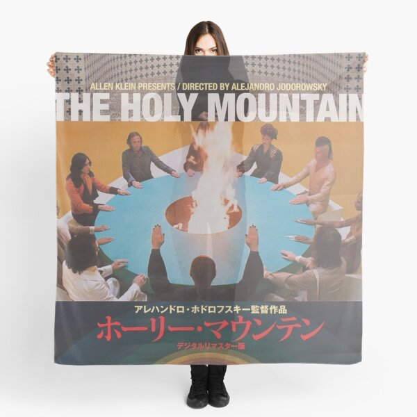 Japanese The Holy Mountain Scarf