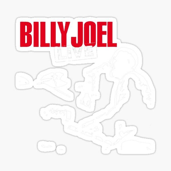 billy the piano joel sketsa tour 2019 2020 nekat8 Sticker