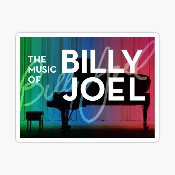 billy the piano man joel music tour 2019 2020 nekat8 Sticker