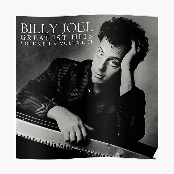 billy the piano man joel greatest tour 2019 2020 nekat8 Poster