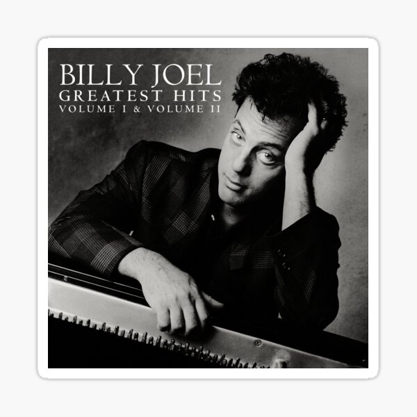billy the piano man joel greatest tour 2019 2020 nekat8 Sticker