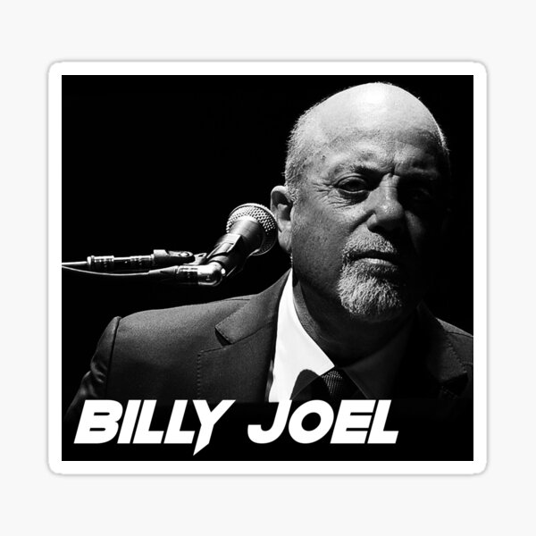 billy the piano joel style tour 2019 2020 nekat8 Sticker