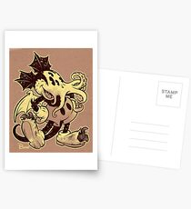 MICKTHULHU MOUSE (monochrome) Postcards