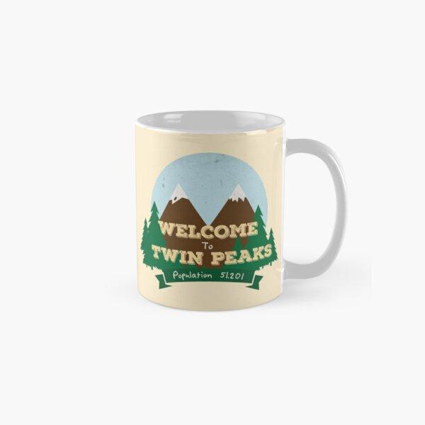 Welcome To Twin Peaks Classic Mug