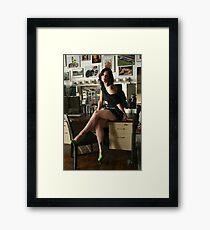 Legal Legs Framed Print