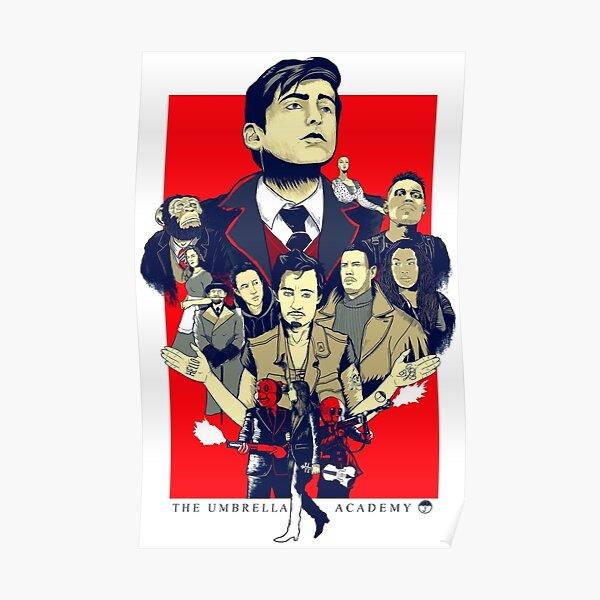 Affiche de l'Académie du Parapluie Poster