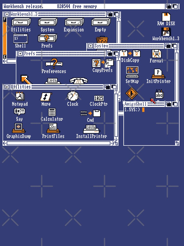 NDVH Amiga Workbench 1.3 by nikhorne
