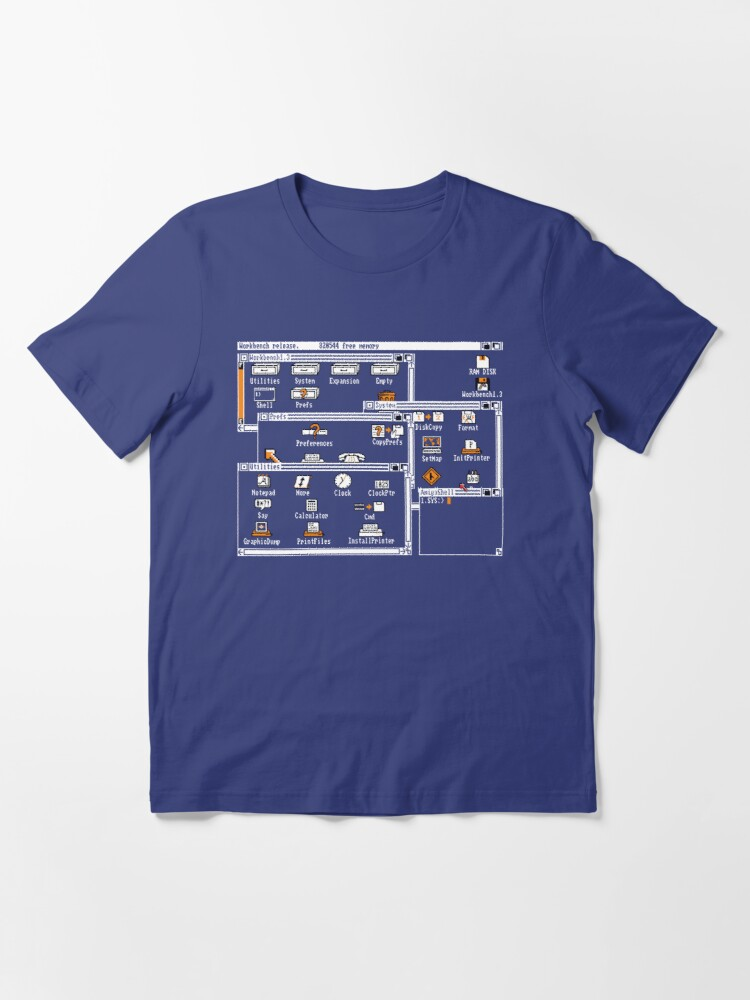 Alternate view of NDVH Workbench 1.3 Essential T-Shirt