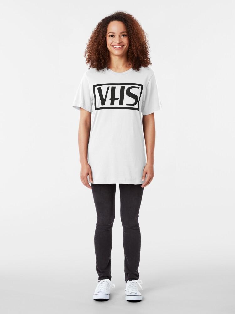 Alternate view of NDVH VHS Slim Fit T-Shirt