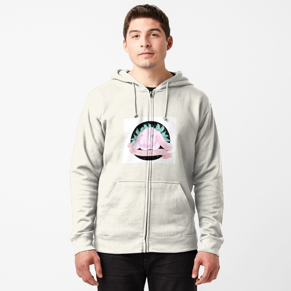 Not A Lab Tool Zipped Hoodie