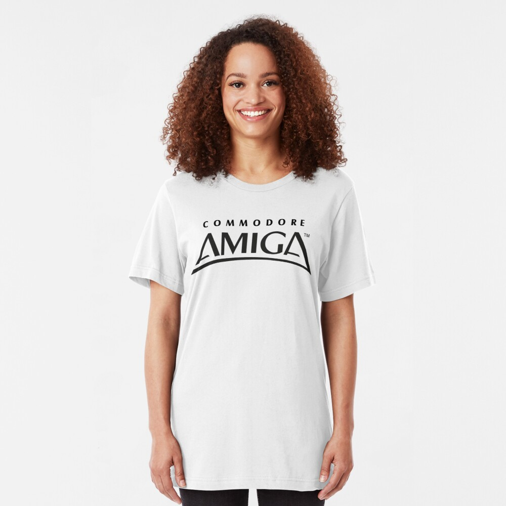 NDVH Commodore Amiga Slim Fit T-Shirt