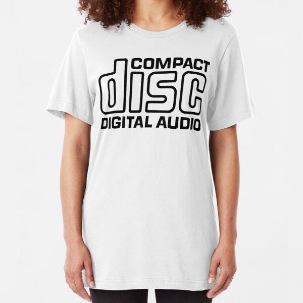 NDVH Compact Disc Slim Fit T-Shirt