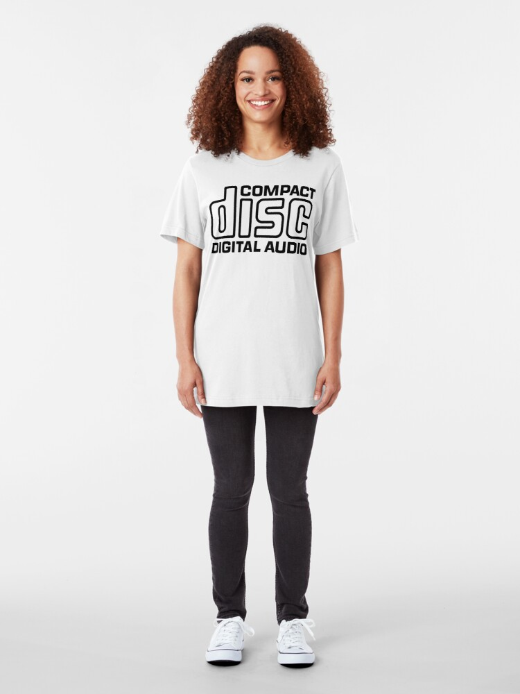 Alternate view of NDVH Compact Disc Slim Fit T-Shirt