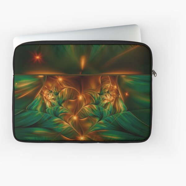 Aurora fractalis Laptop Sleeve