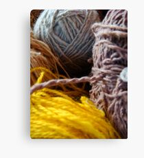 Knit Song II Canvas Print