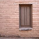 Presidio Window by Richard G Witham