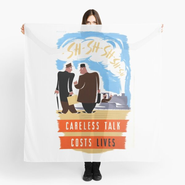 Careless Talk Costs Lives Gifts Merchandise Redbubble