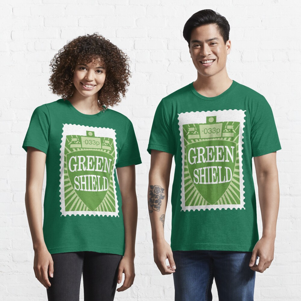 NDVH Green Shield Stamp Essential T-Shirt