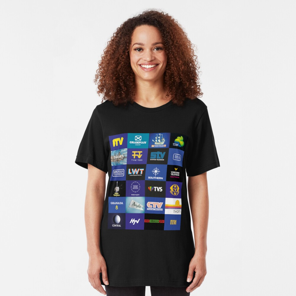 NDVH ITV Slim Fit T-Shirt