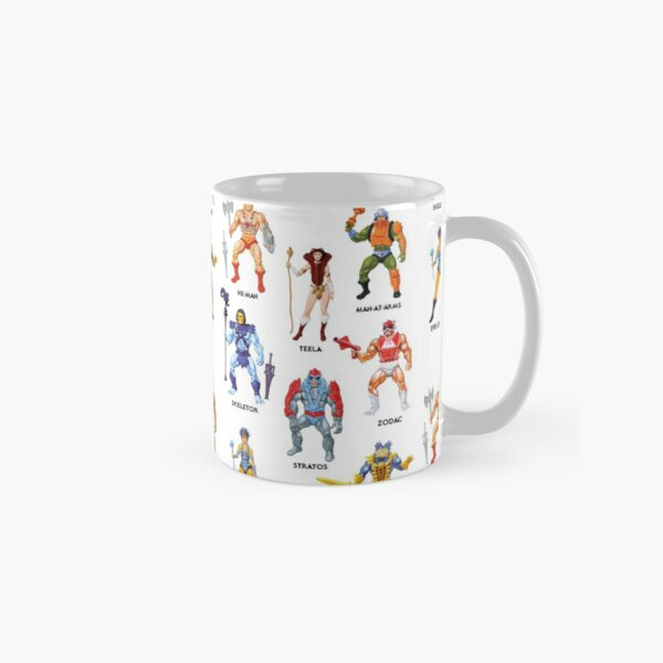 Vintage Masters of the Universe Heroes & Villains! Vintage Toy Card Art Classic Mug