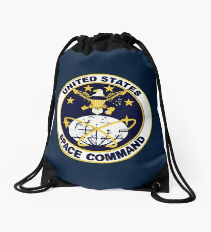 United States Space Command Drawstring Bag