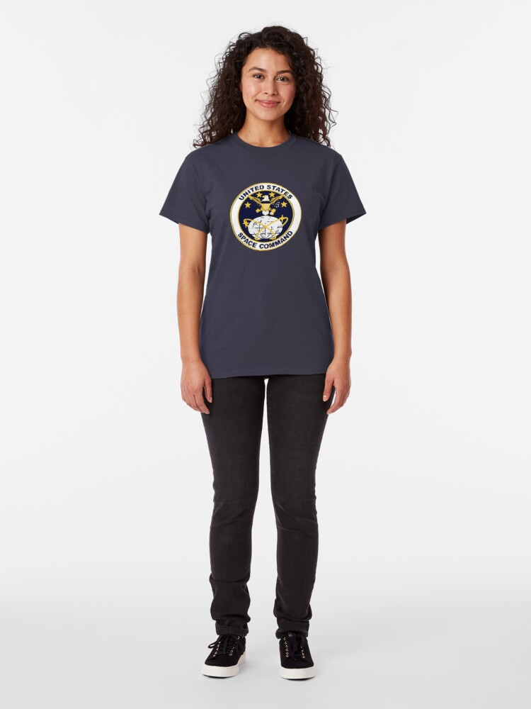 Alternate view of United States Space Command Classic T-Shirt
