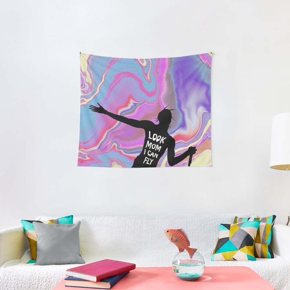 Look mom I can fly Tapestry