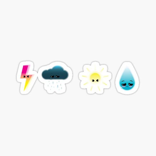Grumpy Weather Gang Sticker