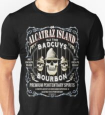 Alcatraz Island BadGuys Bourbon Label Unisex T-Shirt