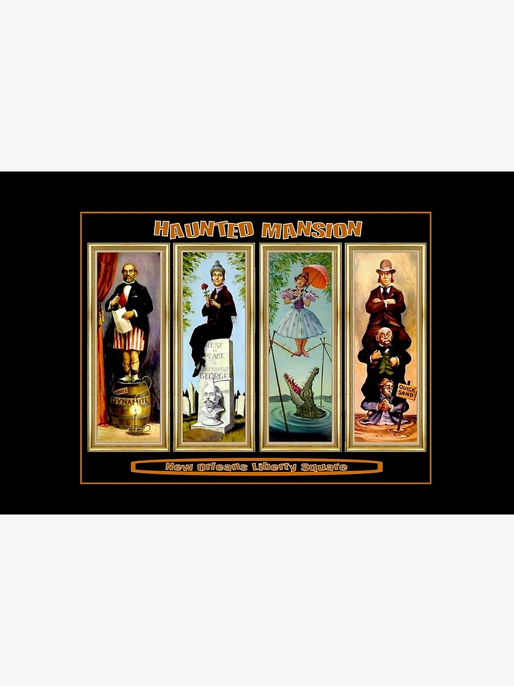 HAUNTED MANSION : Vintage New Orleans Liberty Square Prints. by posterbobs