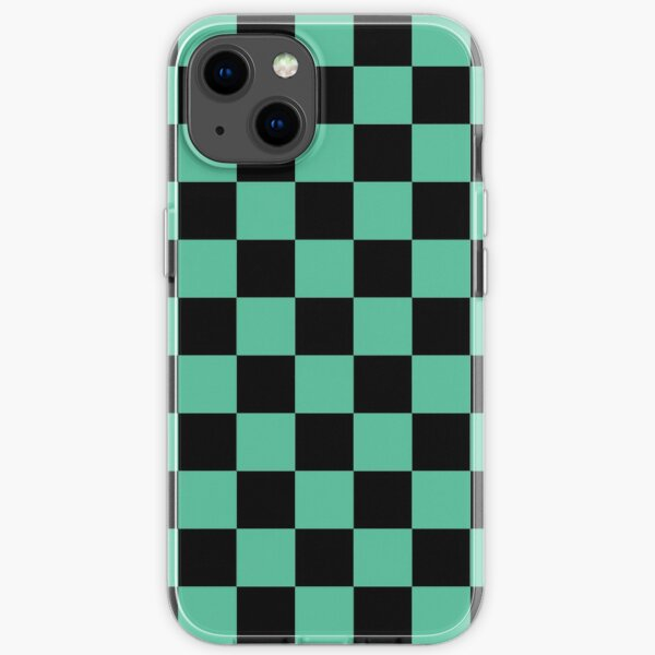Demon Slayer Tanjirou Kamado Haori Pattern iPhone Soft Case