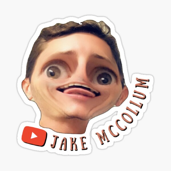 YT Colored Mii Face  Sticker